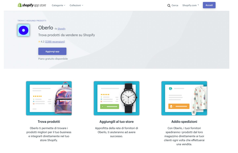 migliori app shopify gratis dropshipping