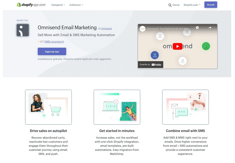 migliori app Shopify email marketing