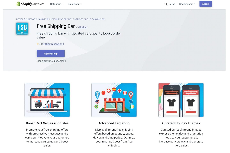 migliori app Shopify informazioni sulla spedizione