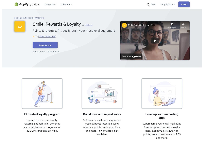 migliori app Shopify fidelizzazione clienti