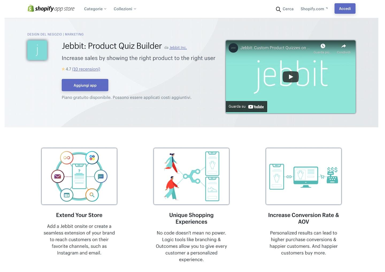 migliori app Shopify quiz e sondaggi