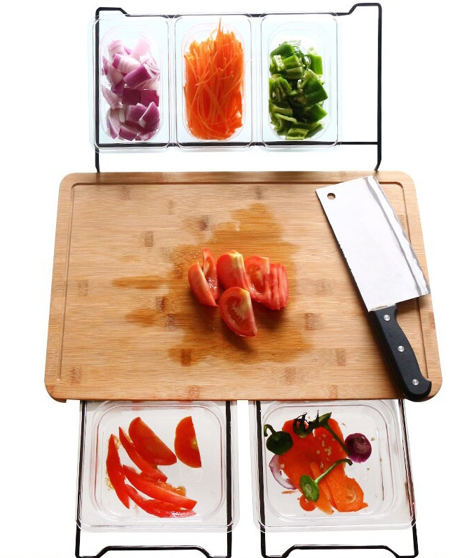 productos innovadores caseros - tabla para cortar