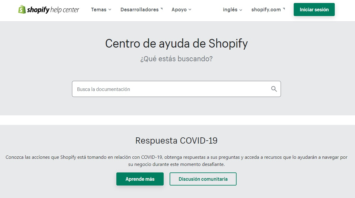 Soporte de Shopify vs. Woocommerce