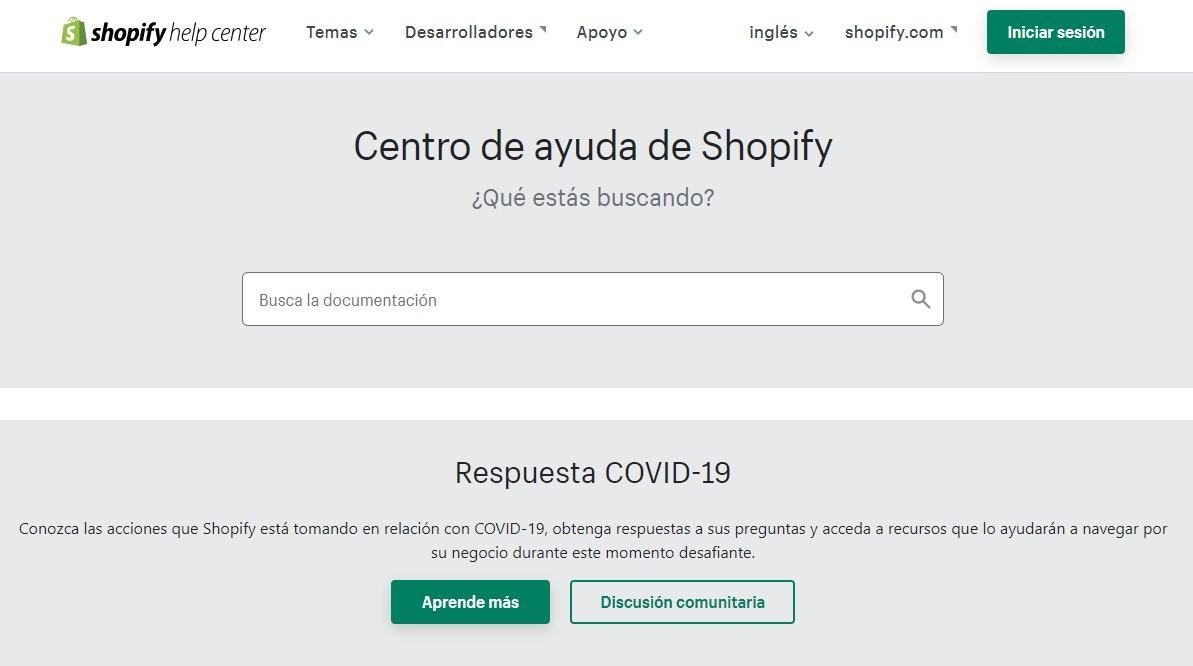 Soporte de Shopify vs. WooCommerce