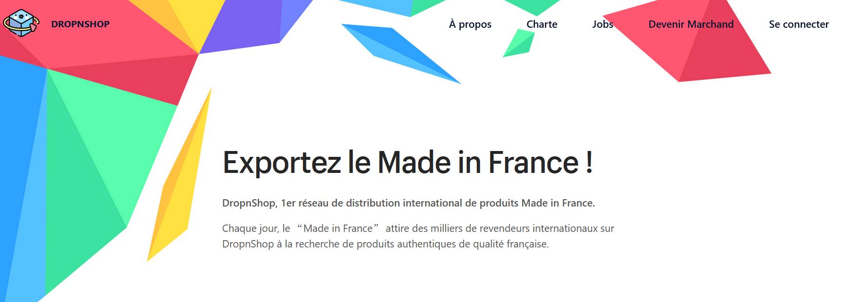 plateforme française dropshipping
