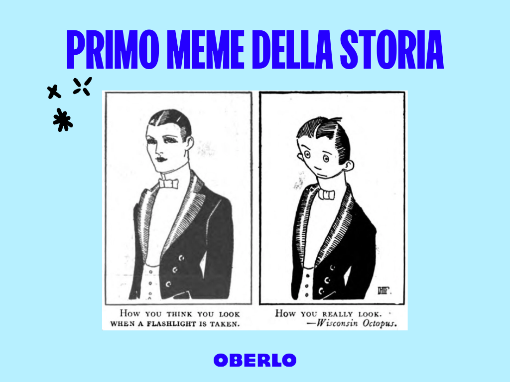 primo meme della storia