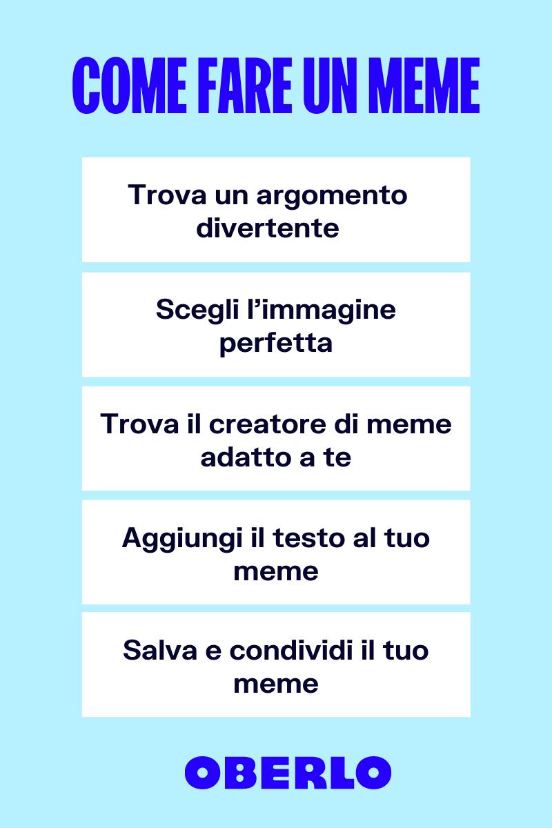 come fare un meme