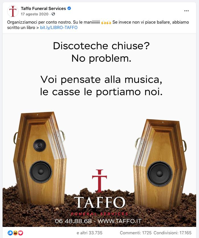 taffo funeral service