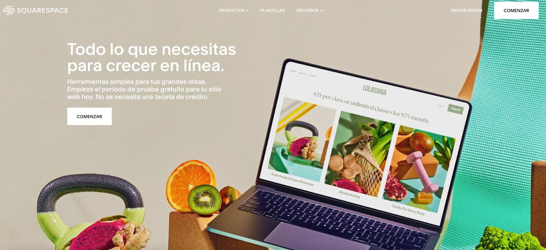 plataformas de venta online colombia squarespace