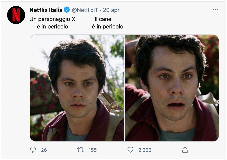 Netflix meme customer engagement