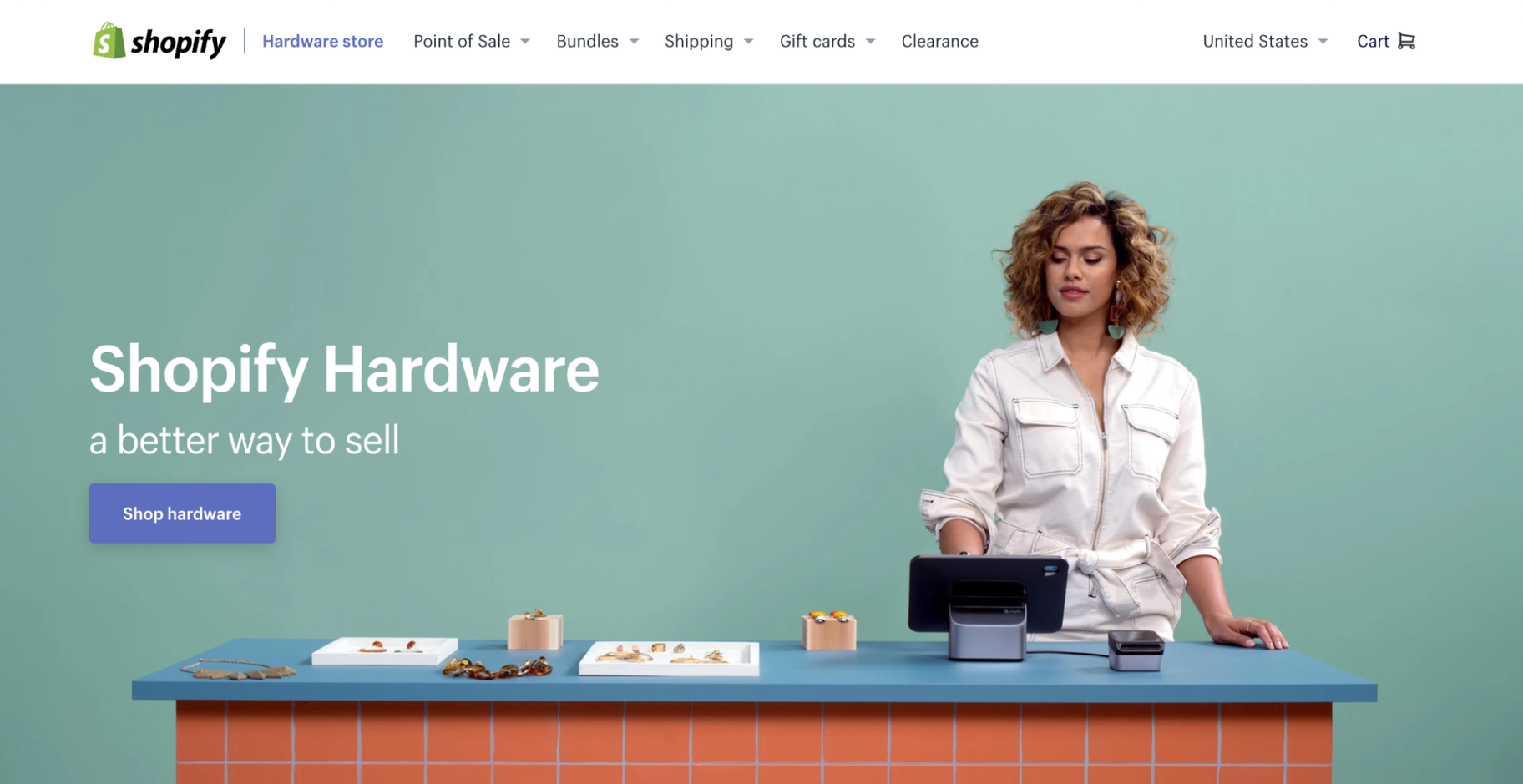Shopify Hardware