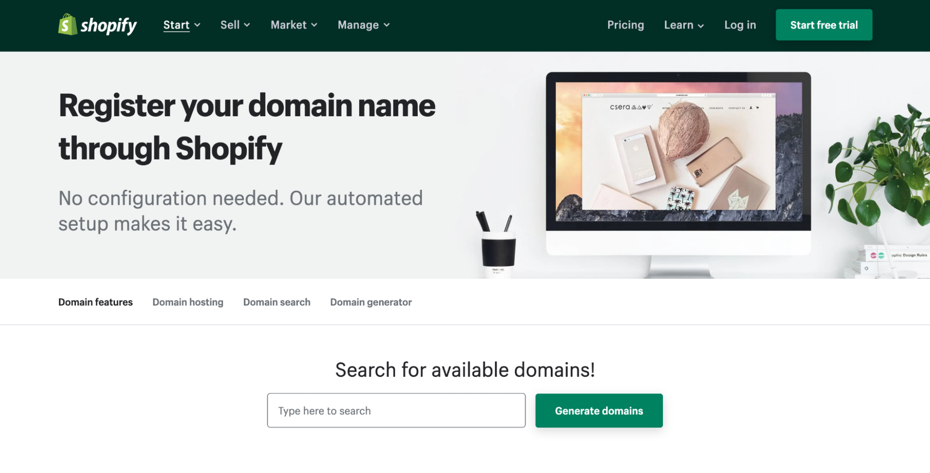 Shopify Domain Pricing