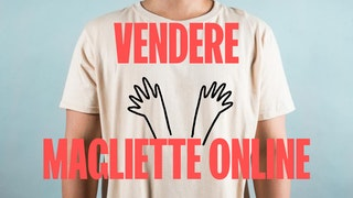 vendere magliette online