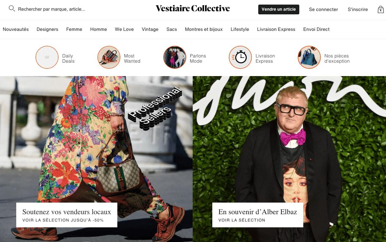 Vendre sur Vestiaire Collective