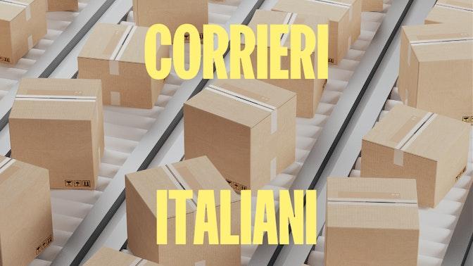 corrieri italiani