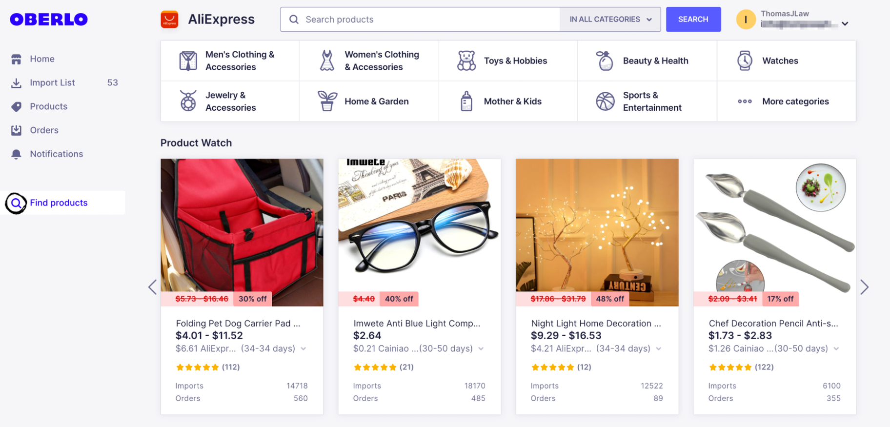 Learn Shopify: Add Products with Oberlo
