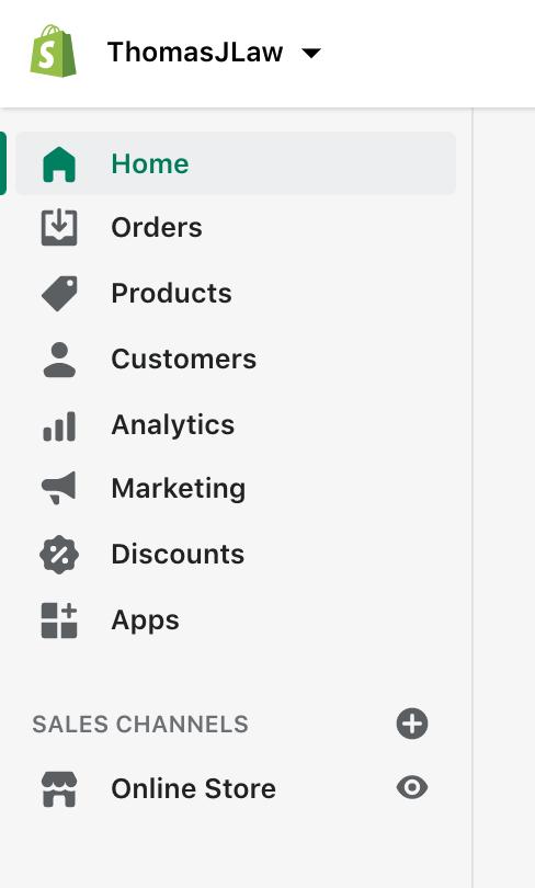 Learn Shopify: Sidebar