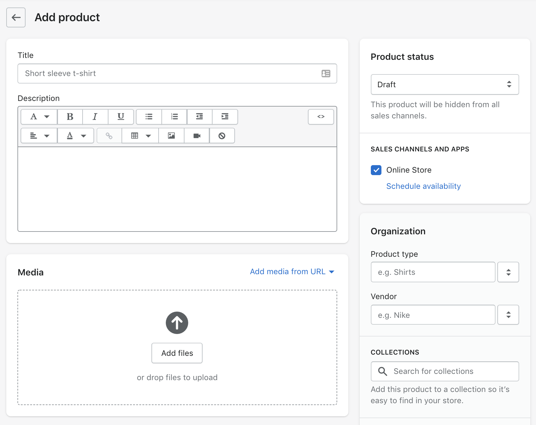 Shopify Manual: Add Products 2