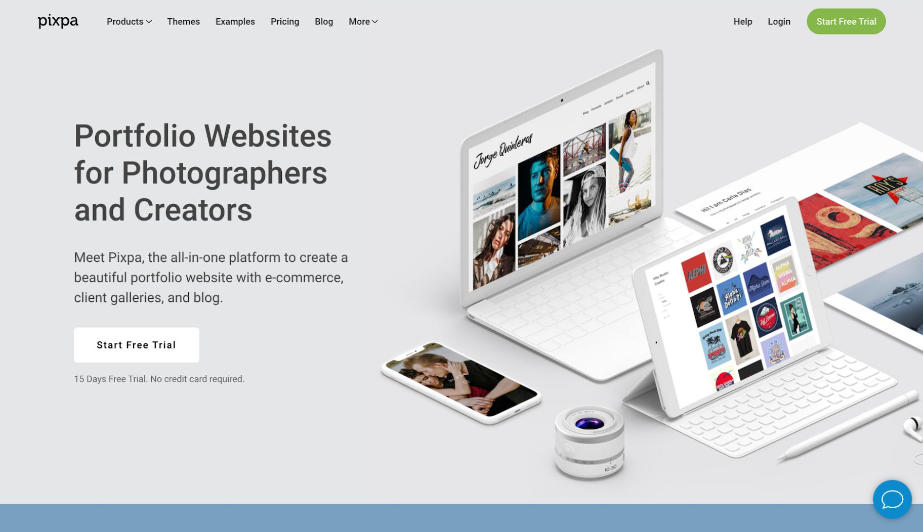 Squarespace Competitor: Pixpa