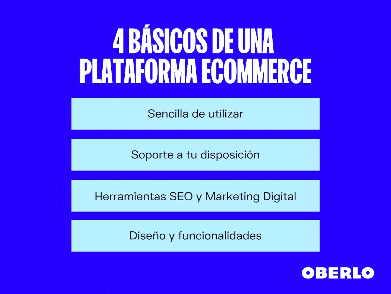 Plataformas que sirven para crear un ecommerce en Internet