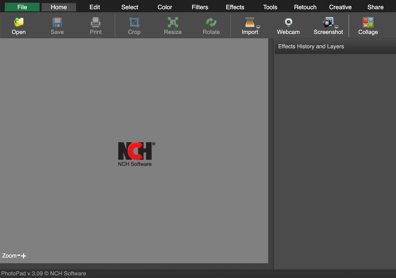 migliori programmi per modificare foto gratis: PhotoPad