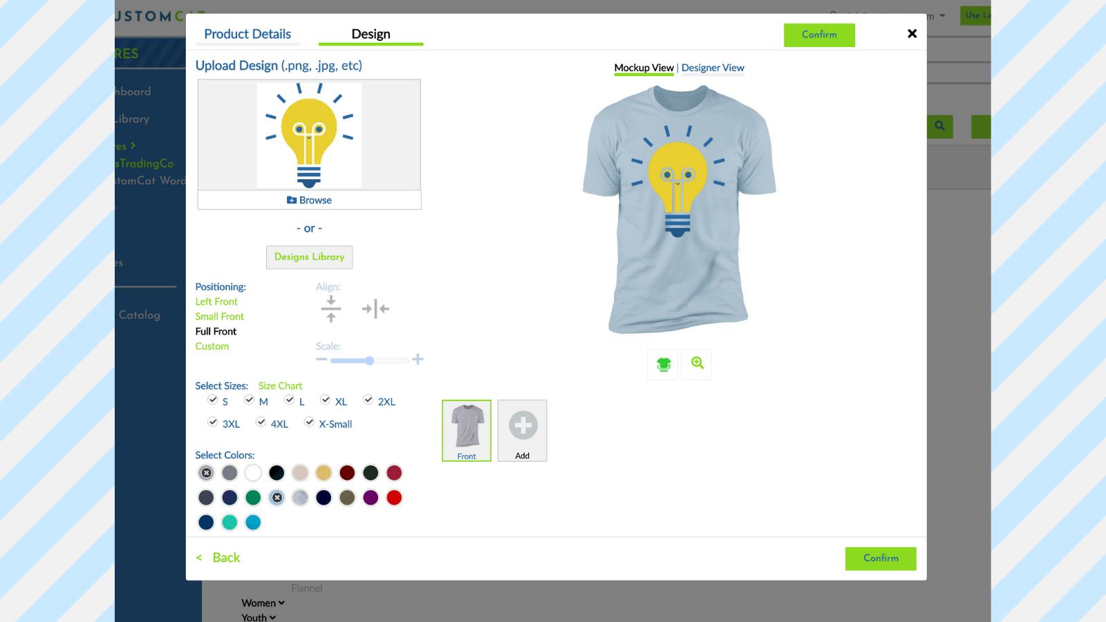 Print-on-Demand Shop: CustomCat