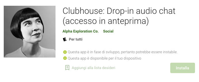 clubhouse su android