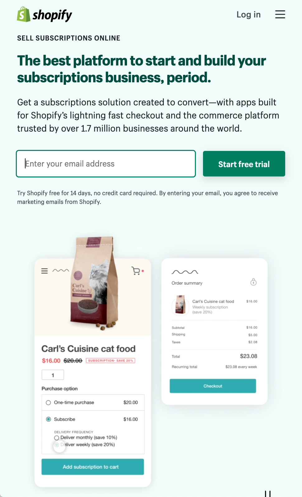 Starting a Small Business From Home Ideas: Shopify Subscription Management