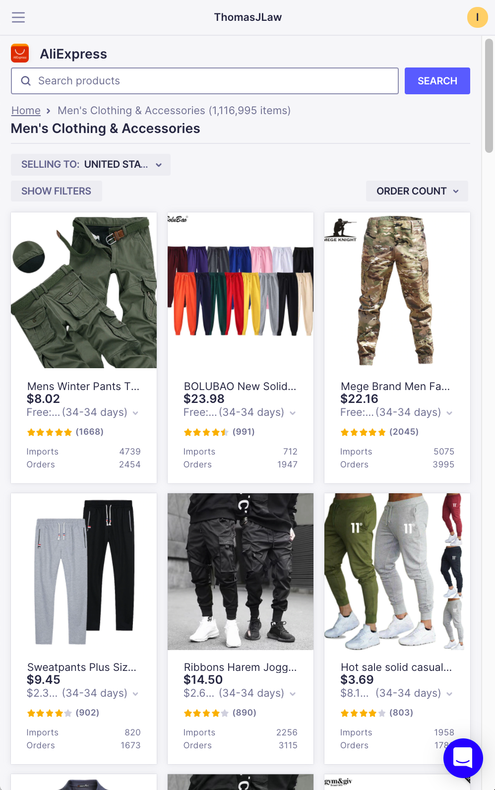 Find Products to Sell with Oberlo