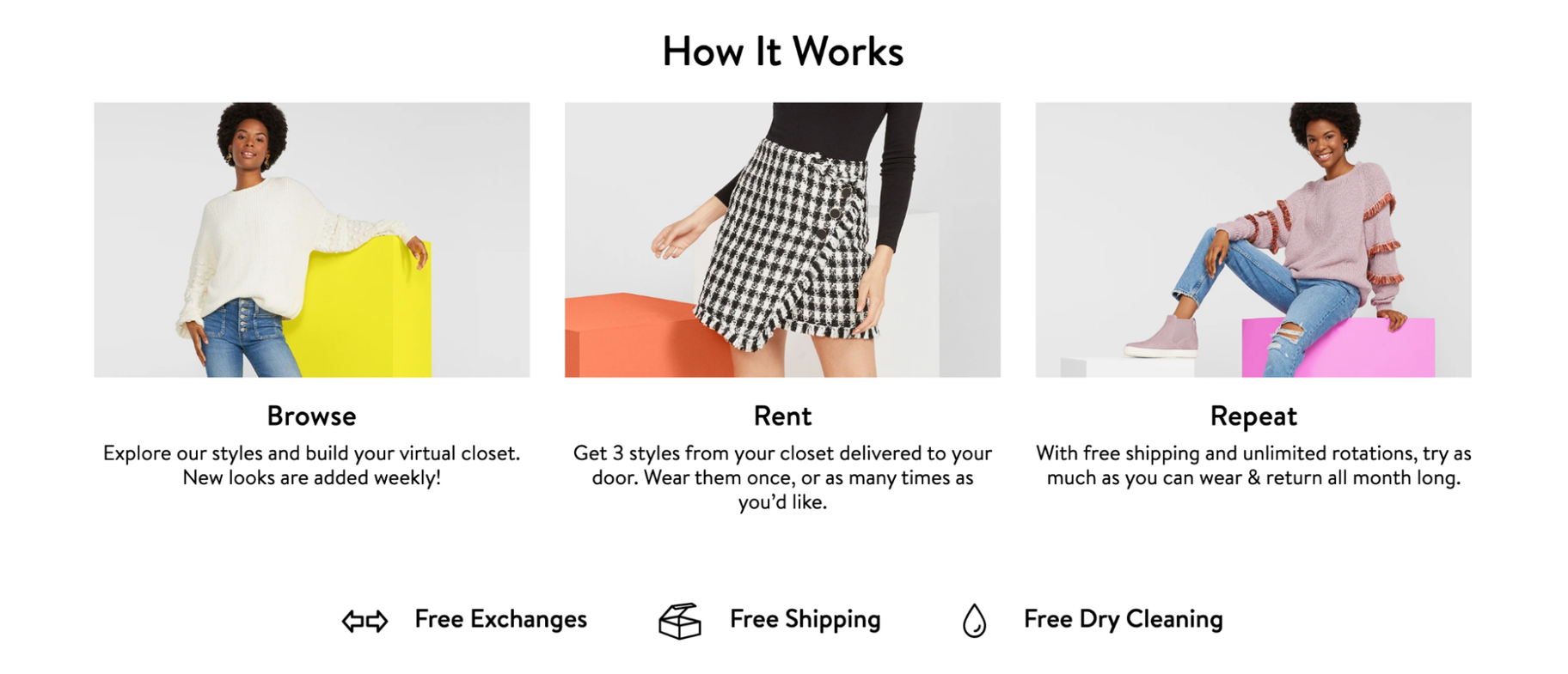 Online Business Ideas from Home: Haverdash Clothes Subscription