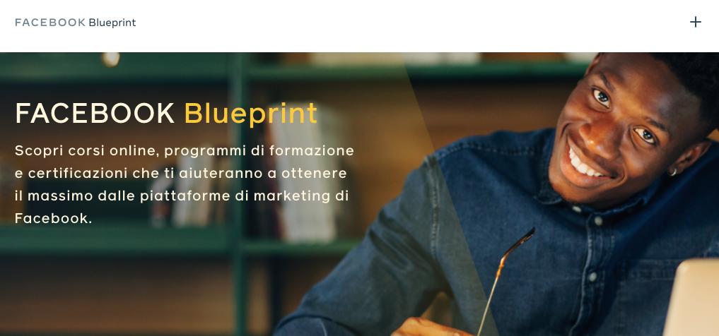 Migliori corsi online gratuiti: Facebook Blueprint