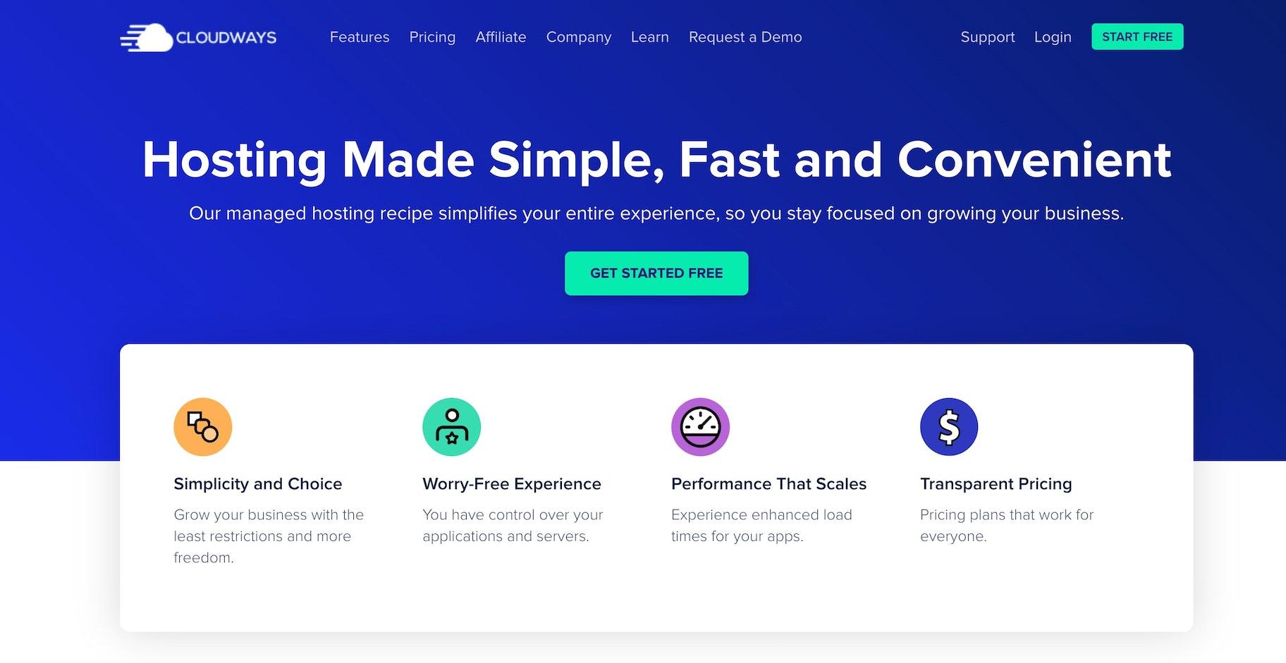 Cloud-based ecommerce hosting: Cloudways