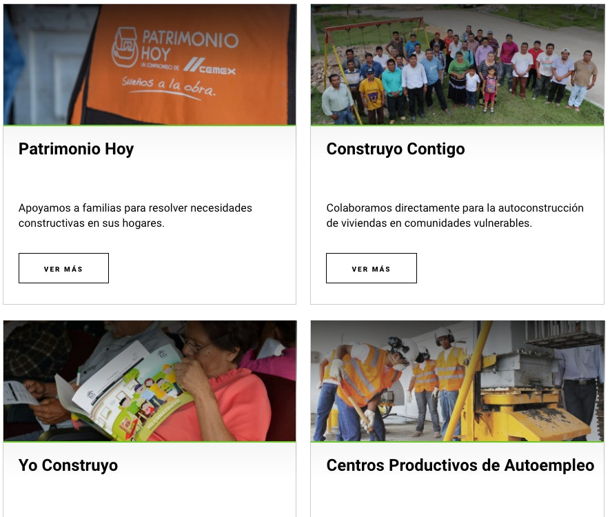 responsabilidad social empresarial ejemplos cemex