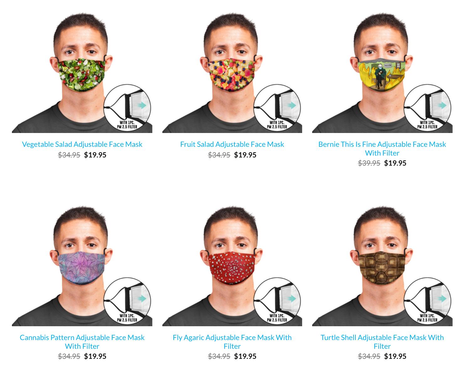 Beloved Shirts: Face Masks
