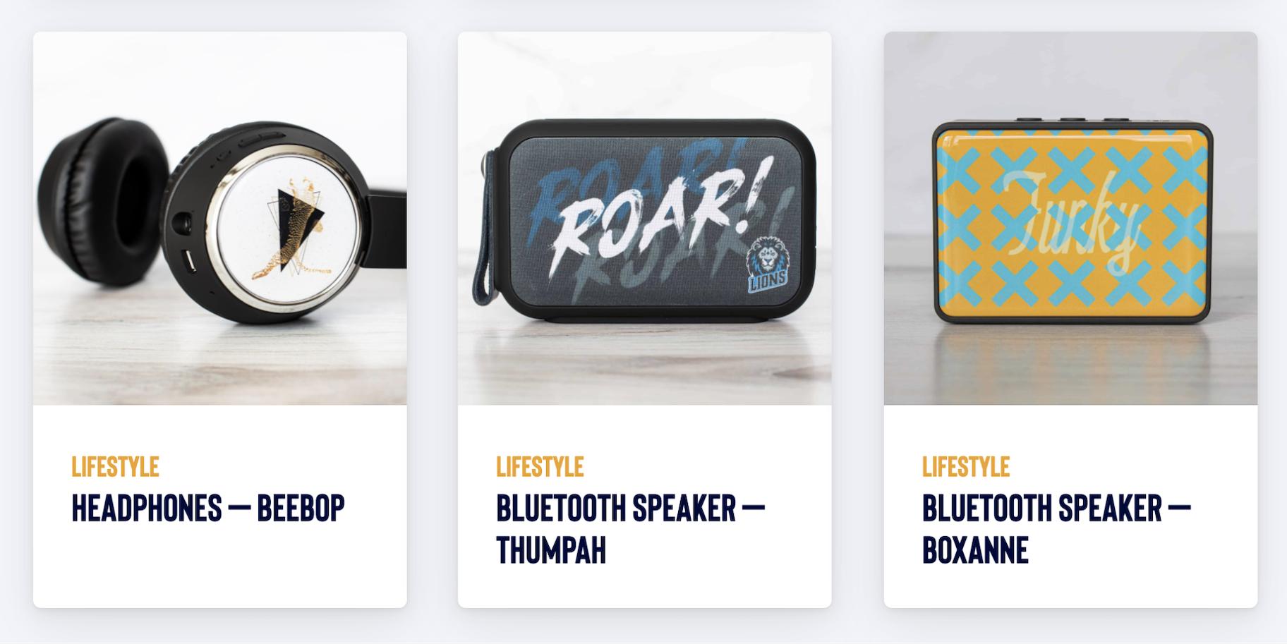 Teelaunch: Bluetooth Speakers