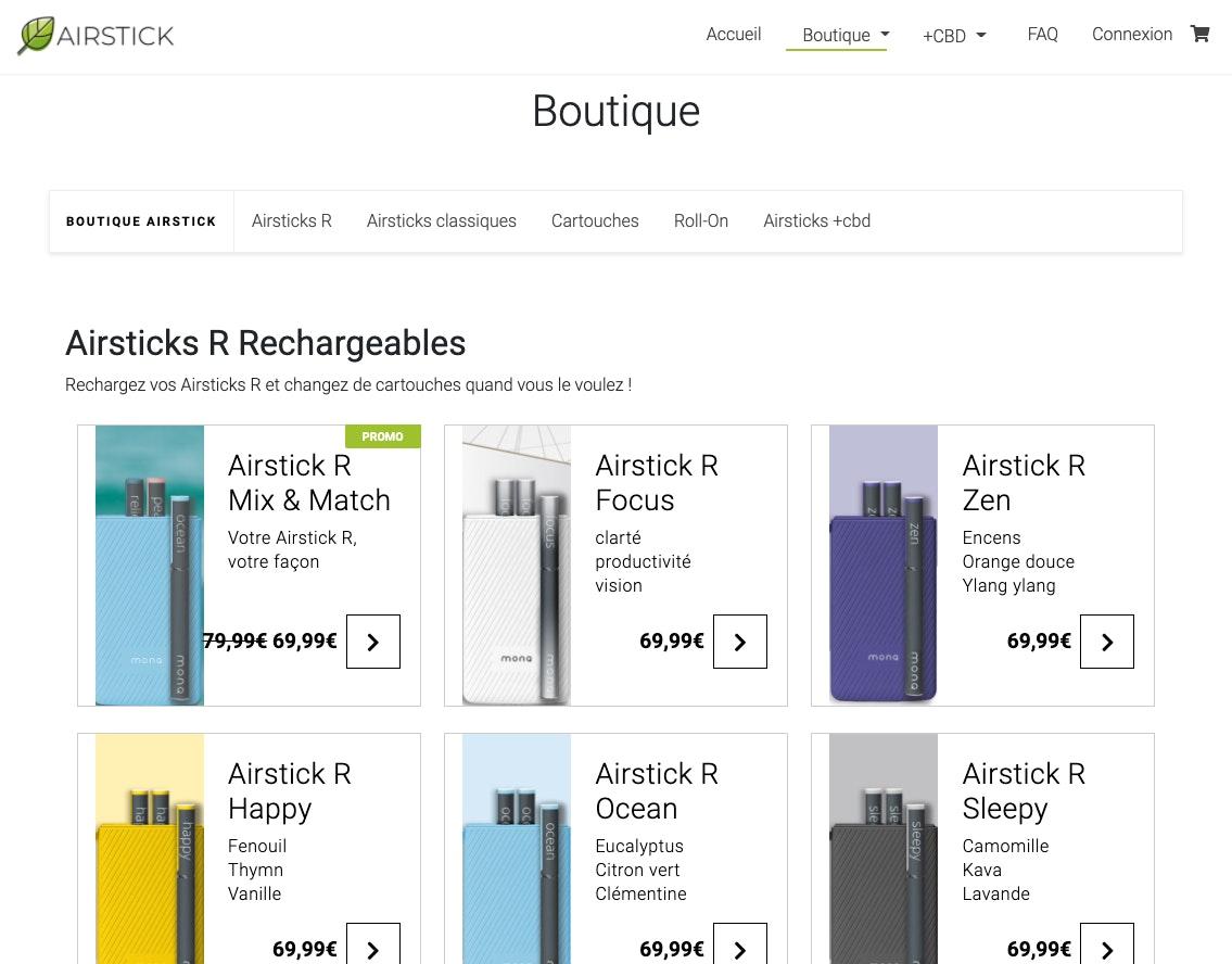 Exemple de site wordpress