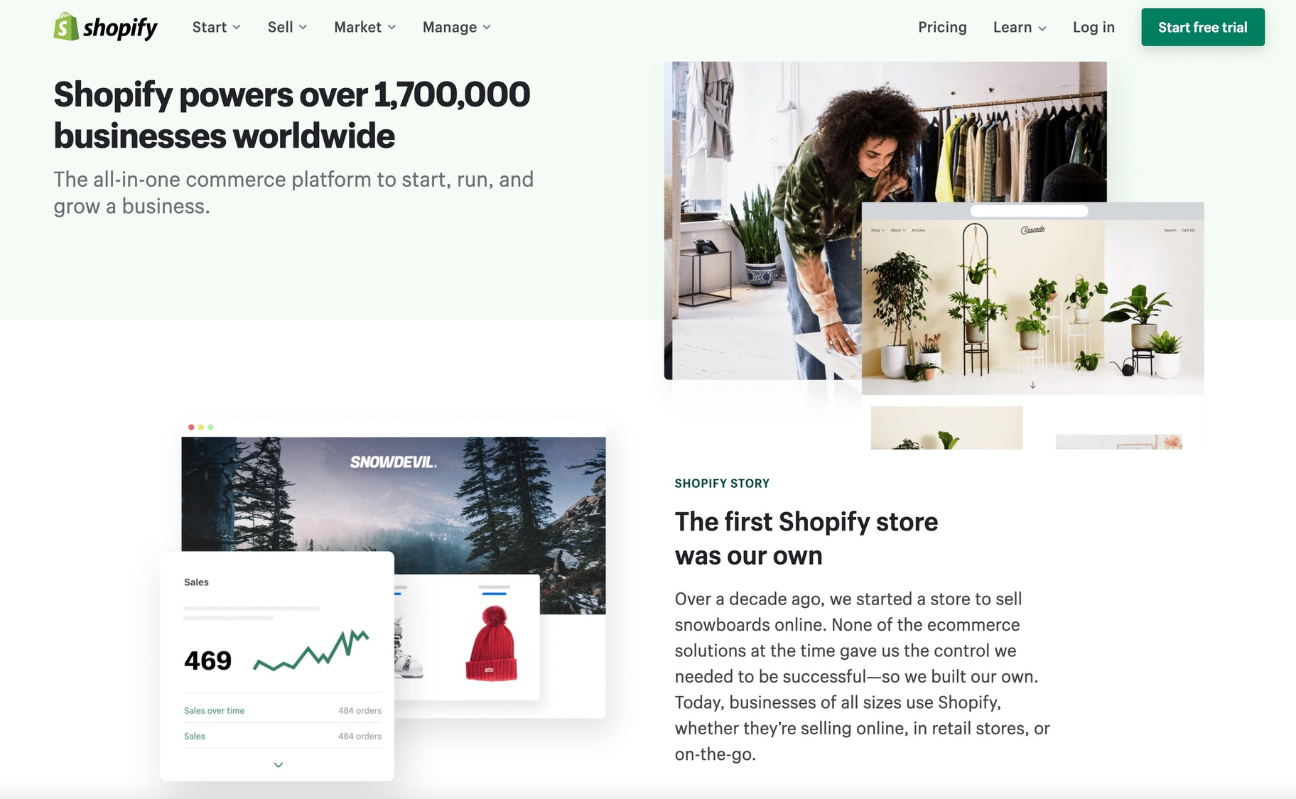 shopify about us