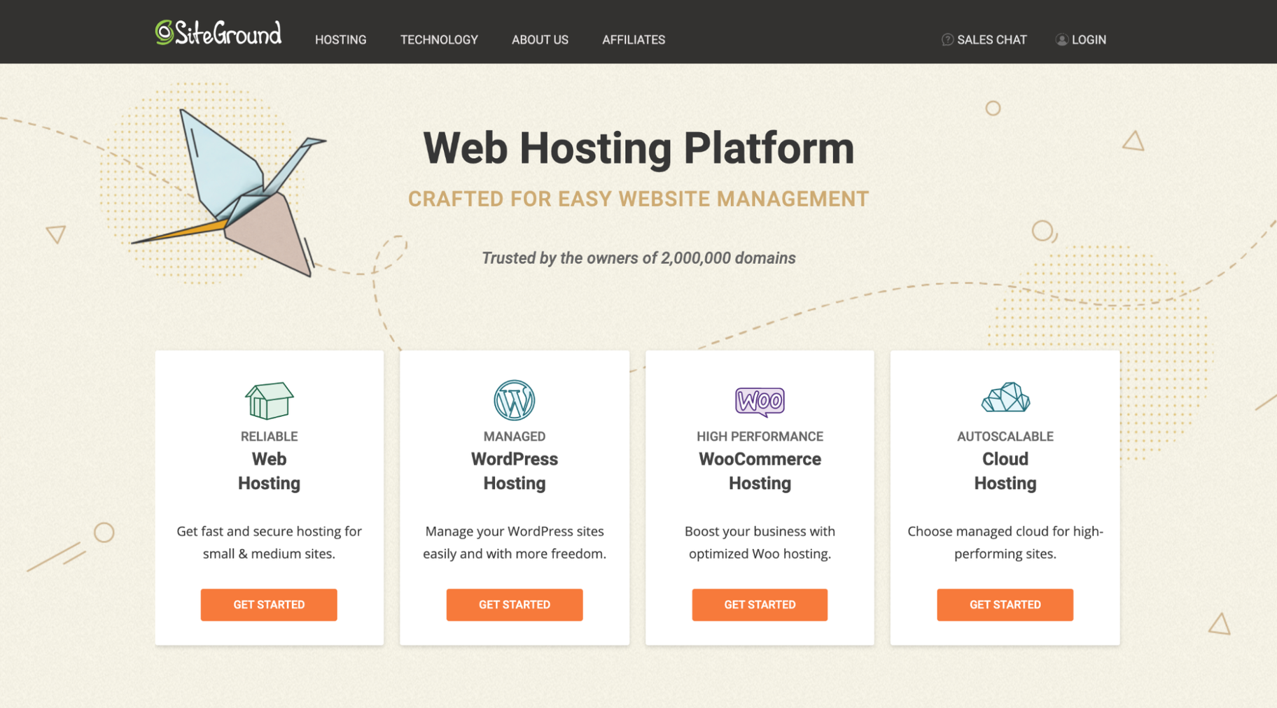 Best Web Hosting for Small Businesses: SiteGround