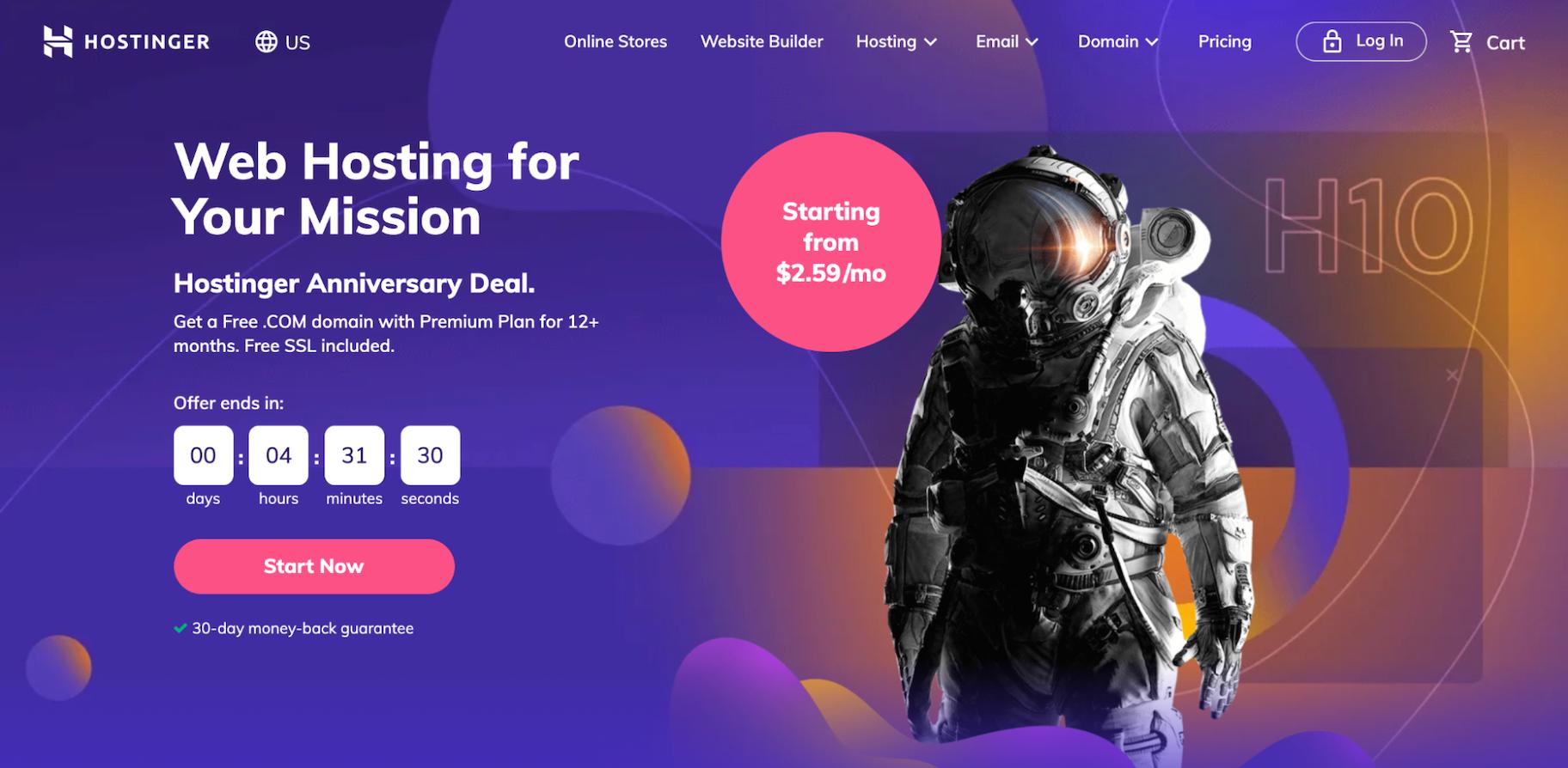 Best Web Hosting for Small Businesses: Hostinger