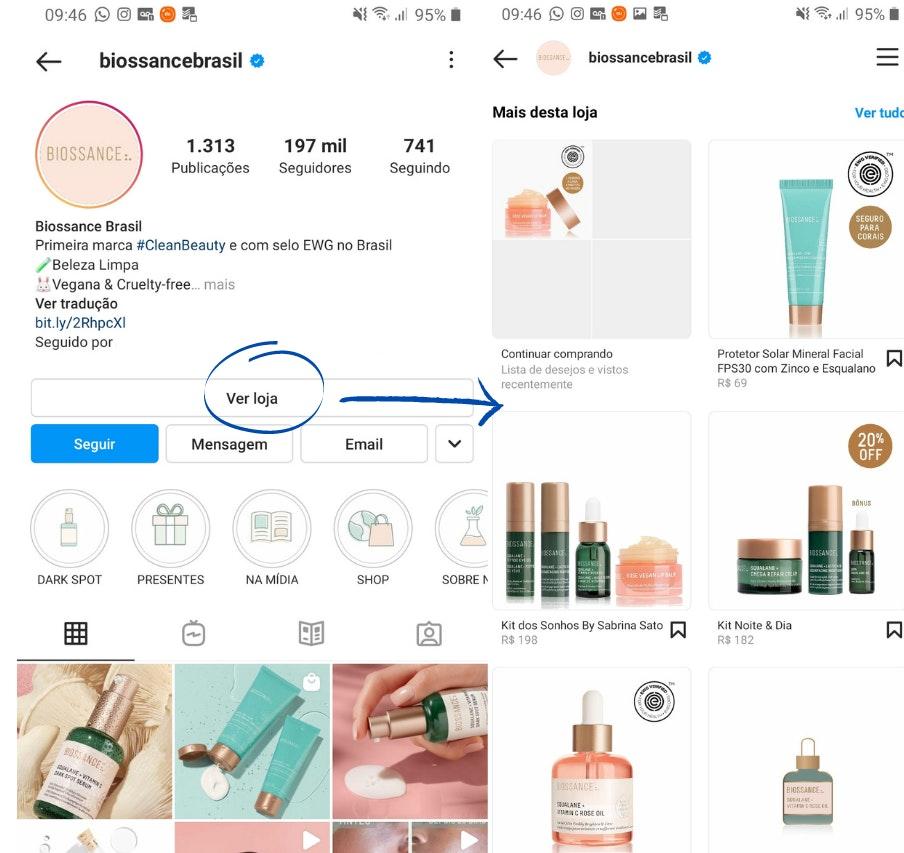 Loja no Instagram: o que é e como funciona