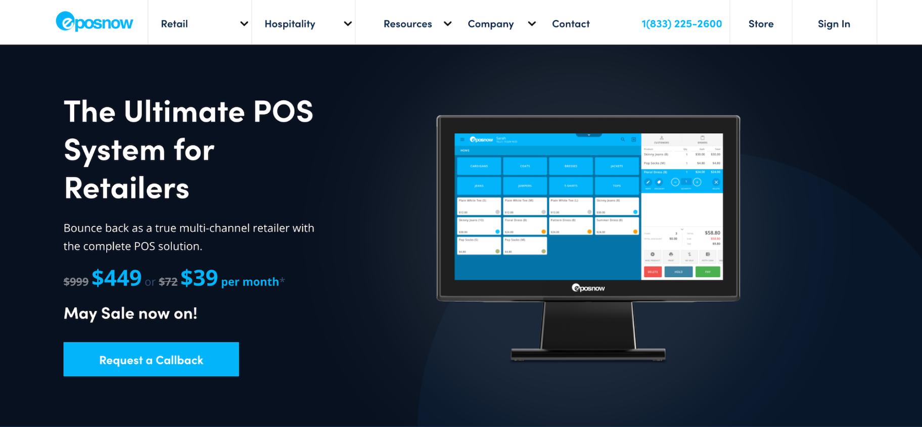 Alternatives to Square: Epos Now