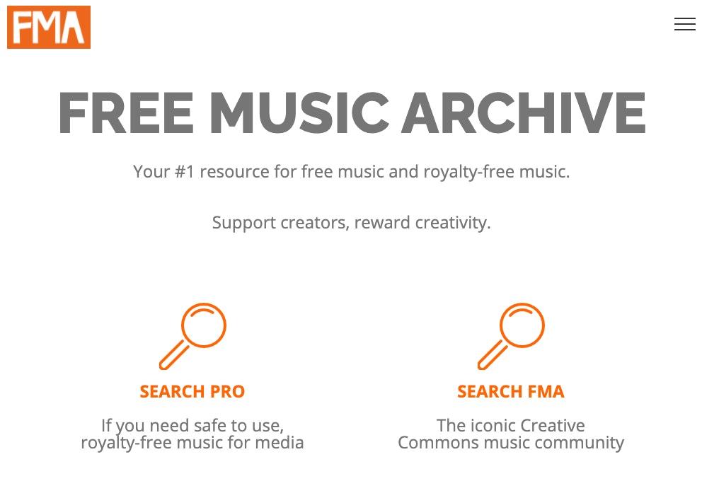 Free Music Archive: siti per scaricare musica gratis senza copyright