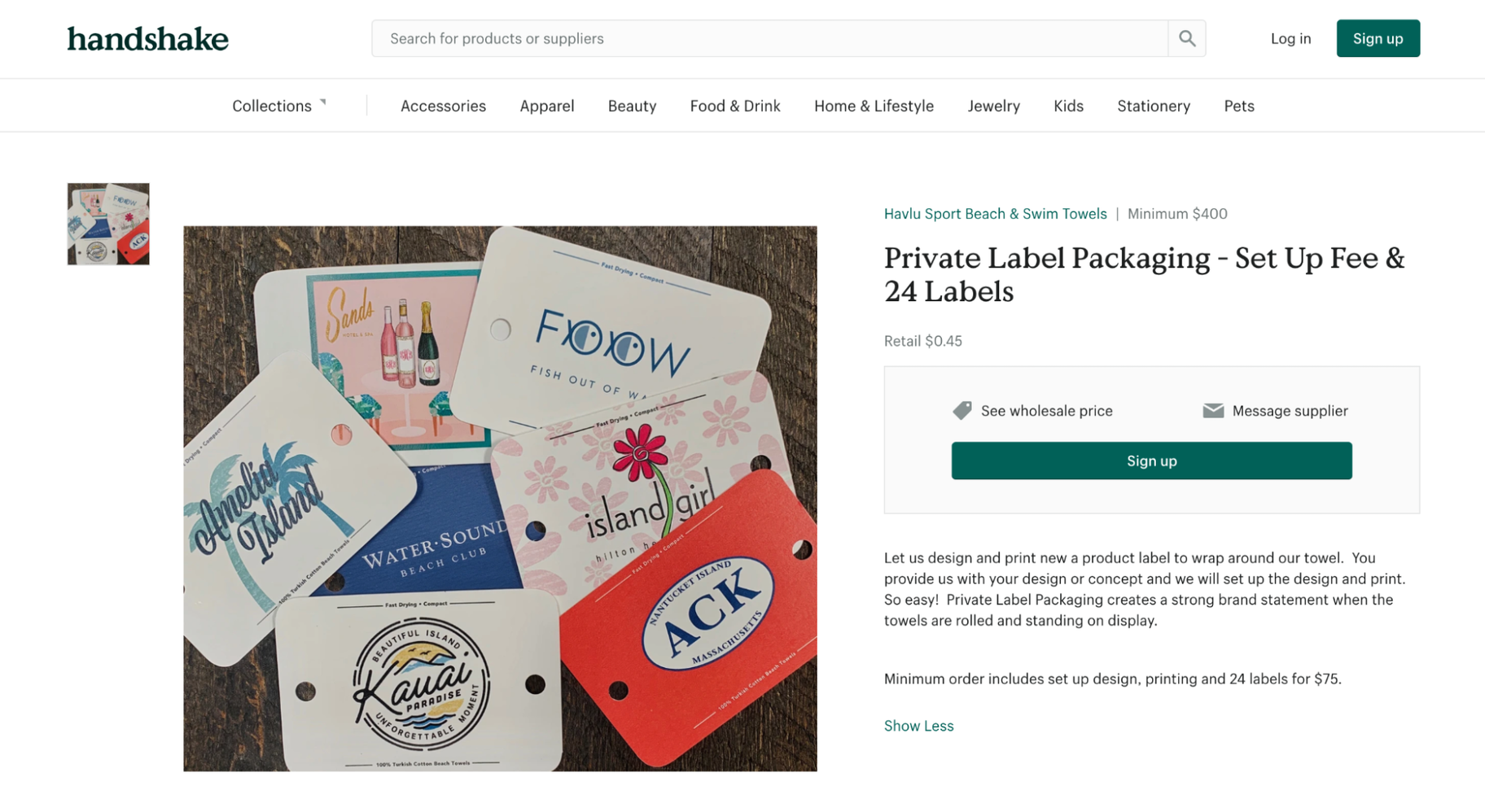 Sourcing Products From Wholesalers: Private Labeling