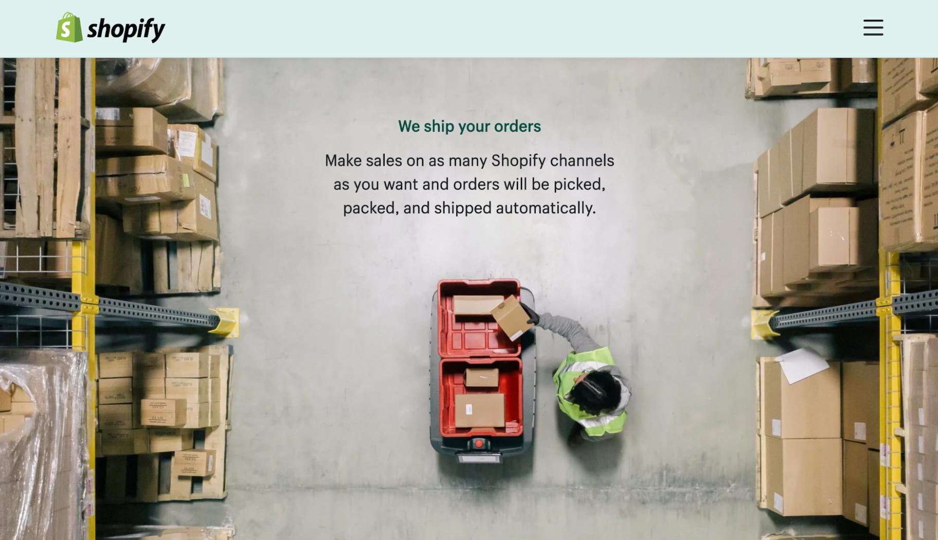 Shopify Fulfillment Network