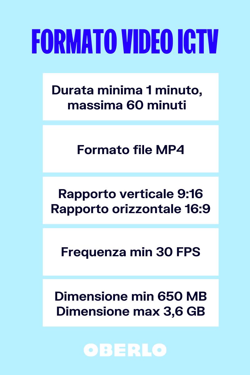 formato video igtv