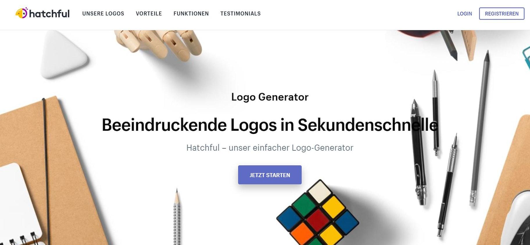 Onlineshop erstellen - Logos mit Hatchfull kreieren