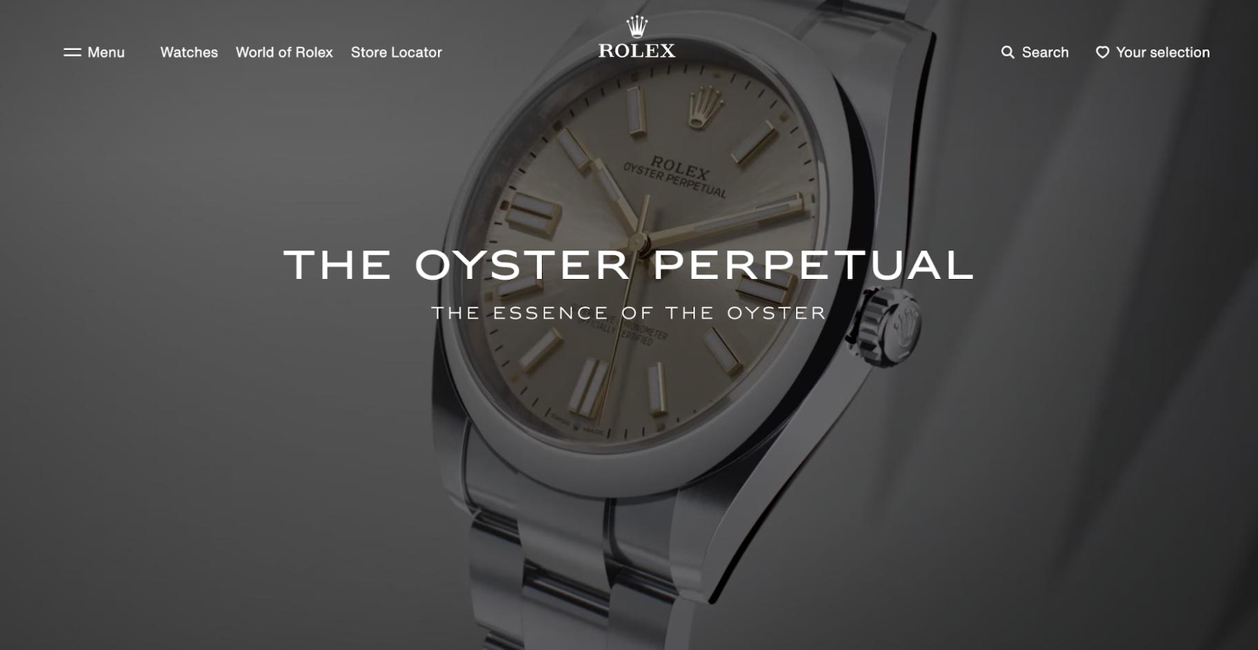 Premium Pricing: Rolex