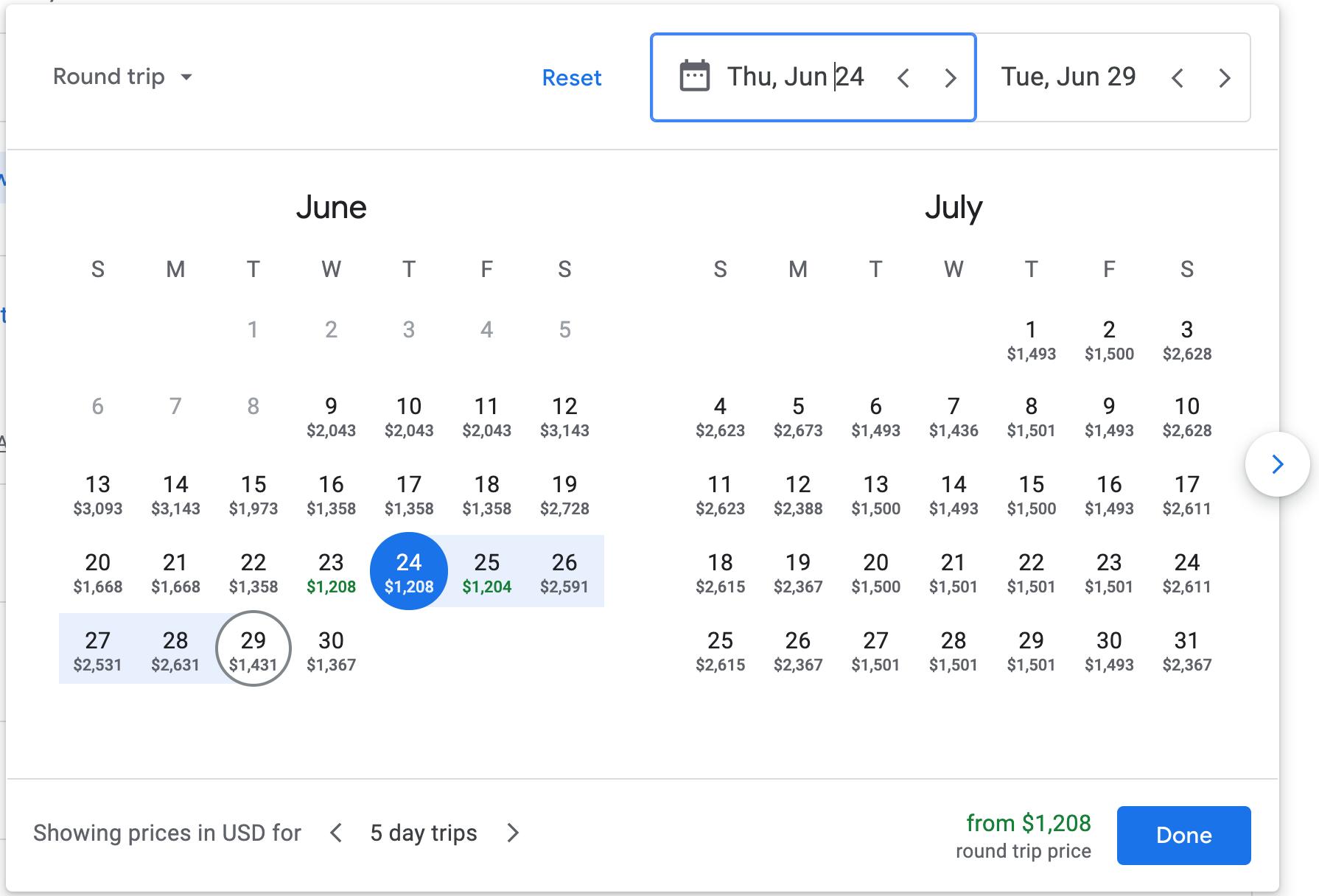 Dynamic Pricing: Google Flights