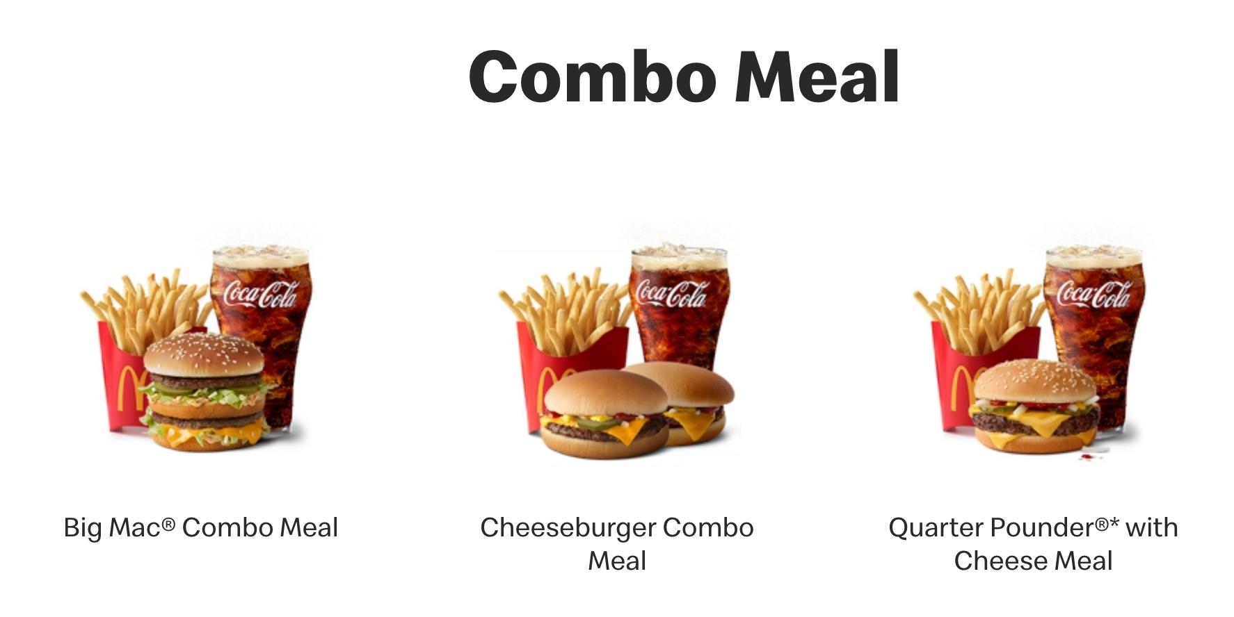 Bundle Pricing Strategy: McDonald's
