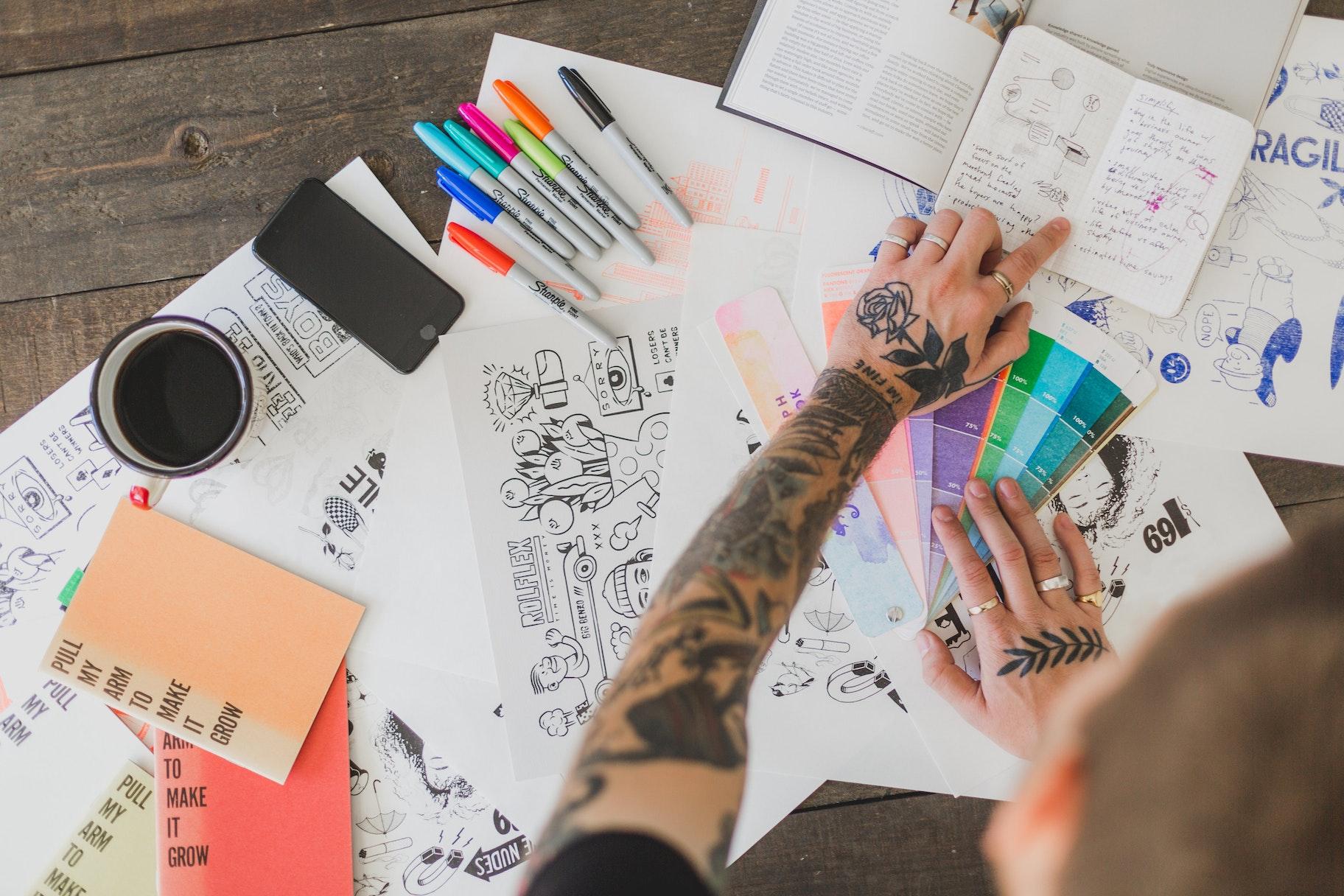 Come guadagnare da casa con le illustrazioni